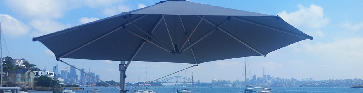 Outdoor Cantilever Umbrellas