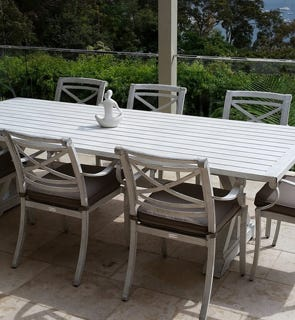 aluminium outdoor furniture in sydney