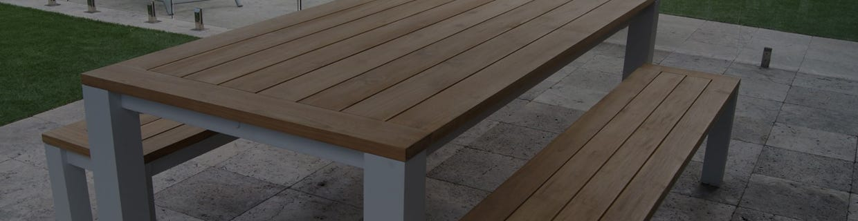 Teak & Aluminium Outdoor Dining