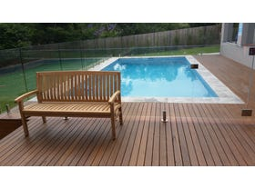 Kingston Outdoor Teak Bench 150cm