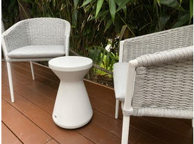 Isla 3pc Balcony Setting with Solo Side Table