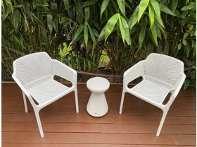 Bailey 3pc Balcony Setting with Solo Side Table