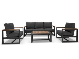 Adler 4pc Outdoor Lounge Setting