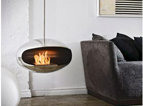 Cocoon Fires Ethanol Aeris Fireplace