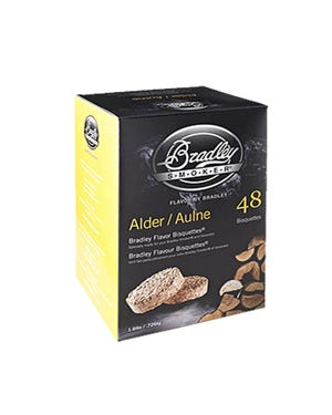 Alder Bisquettes 48 pack