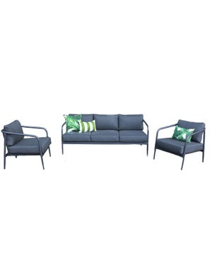 Amore 3pc Outdoor Lounge Setting