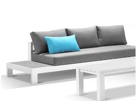 Aspen 5 Seater Outdoor Ceramic Platform Lounge Setting