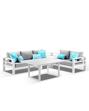 Aspen 5 Seater Outdoor Lounge