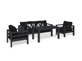 Aspen 4pc Outdoor Lounge Setting