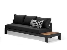 Aspen Teak Platform LH 3 Seater Sofa