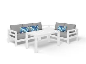 Aspen 5 Seater Outdoor Aluminium Lounge Setting