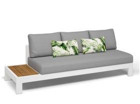 Aspen Teak Platform RH 3 Seater Sofa