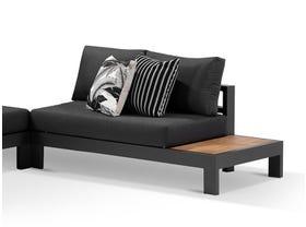 Aspen Teak Platform LH 2 Seater Sofa