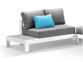 Aspen 4 Seater Outdoor Ceramic Platform Lounge Setting