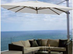 Asta Premium 3.5m Square Cantilever Umbrella -MELB ONLY