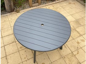 Avignon 120cm Aluminium Table- NSW ONLY