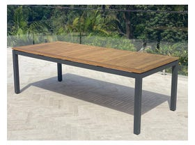 Barcelona Teak Dining Table 240 x 100cm
