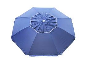 Beachcomber Beach Umbrella - Navy -MELB ONLY