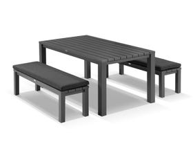 Adele 4 Seater Outdoor Bench Set