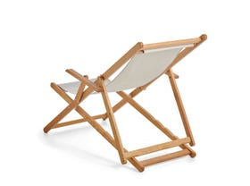 Beppi Sling Deck Chair -Raw