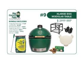 Big Green Egg -XLarge Modular Table Bundle 9