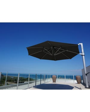 Eclipse 4m Umbrella -Black
