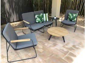 Buru 4pc Outdoor Rope Lounge Setting