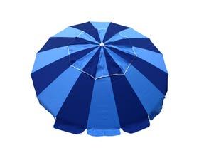 Carnivale Beach Umbrella - Royal/ Navy -MELB ONLY