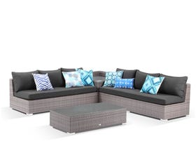 Como 6 Seater  Outdoor Modular Lounge Setting