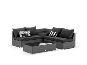 Como 4 Seater Outdoor Modular Lounge Setting