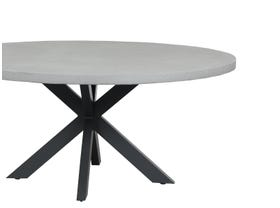 Geo Outdoor Cement Table -170cm Round