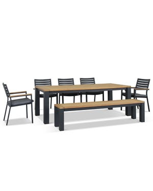 Outdoor Dining Seating -Corfu 8 Seater