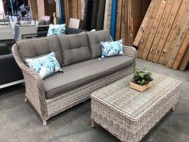 FLOOR MODEL- Crecy 2pc Outdoor Lounge Set
