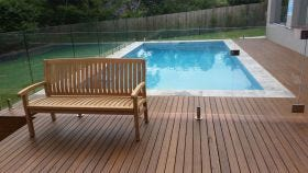Kingston Outdoor Teak Bench 150cm