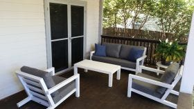 Block Aluminium 4pc Outdoor Sofa Setting