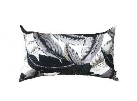 Aloha Palm Outdoor Euro Bolster Cushion