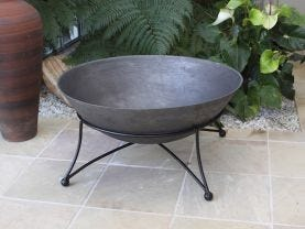 Art Deco Fire Pit 750mm + Cover Package