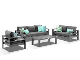 Aspen 4pc Outdoor Lounge Setting