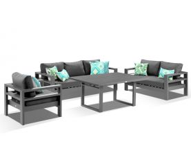Aspen 4pc Lounge Dining Setting