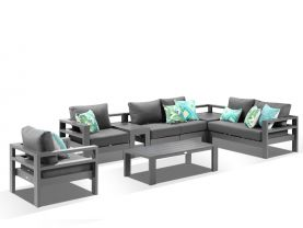 Aspen 6 Seater Outdoor Modular