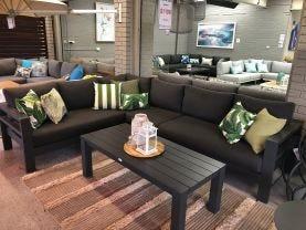 FLOOR MODEL -Aspen 6 Seater Outdoor Lounge Setting
