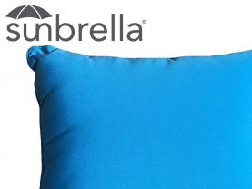 Outdoor Sunbrella Azure Cushion - 50 x 50