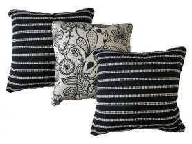 Sunbrella Barbados & Waikki  Outdoor Cushions 3 Pack