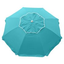 Beachcomber Beach Umbrella - Turquoise -MELB ONLY