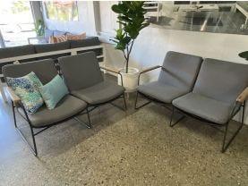Buru 2pc Outdoor Lounge Setting