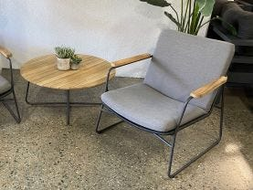 Buru 3pc Outdoor Lounge Setting