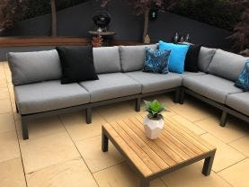 Capri  6 Seater Outdoor Lounge