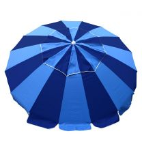 Carnivale Beach Umbrella - Royal/ Navy -MELB ONLY