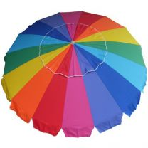 Carnivale Beach Umbrella - Rainbow-MELB ONLY