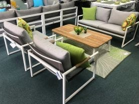 FLOOR MODEL-  Coast 4pc Outdoor Lounge Setting